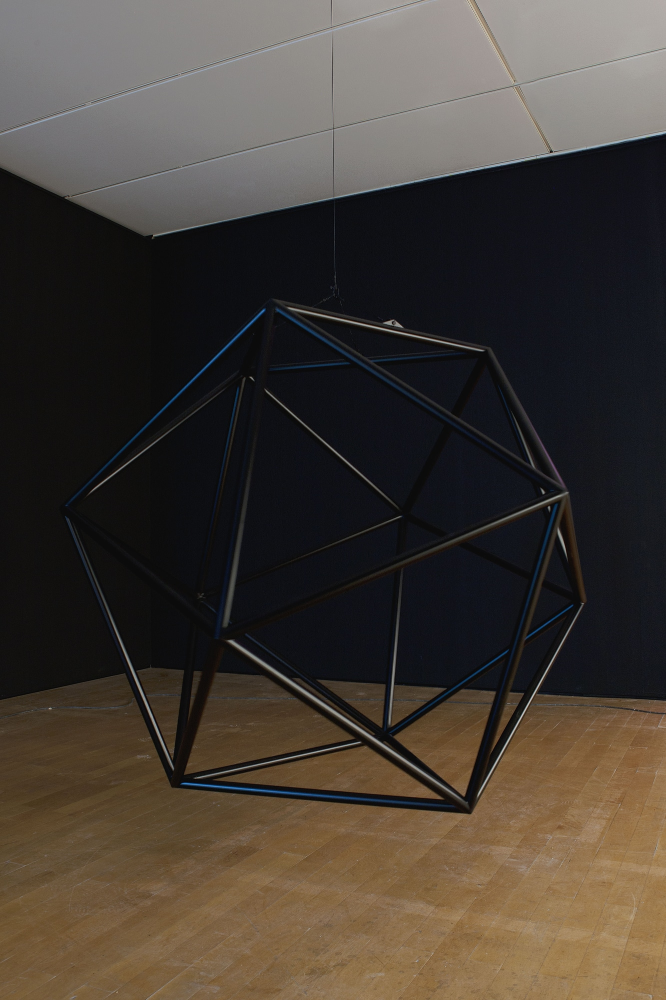 Daniel Firman, Black Icosahedron, 2013 © COPYRIGHT | DANIEL FIRMAN | ALL RIGHTS RESERVED