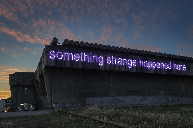 Something strange happened here, 2017, Submarine base of Bordeaux