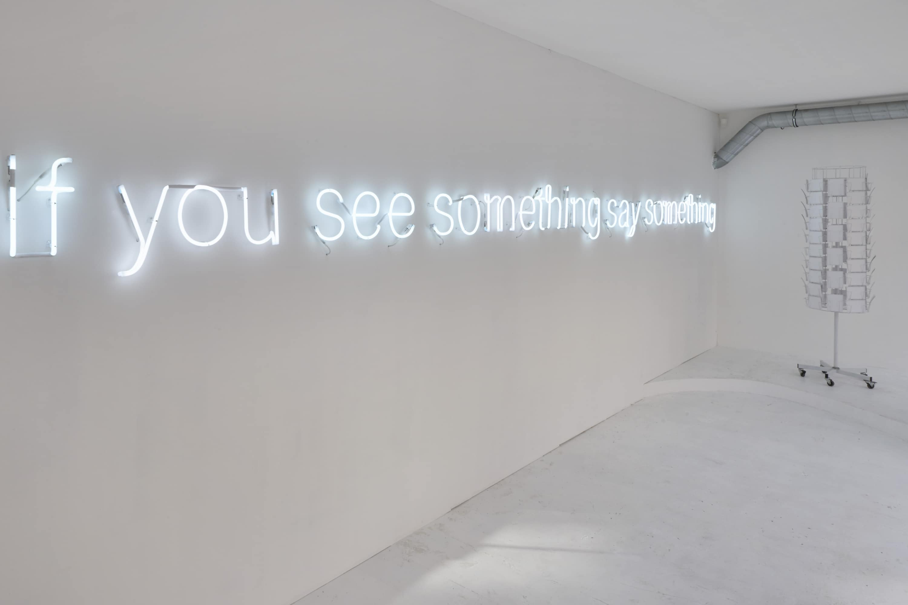 If you see something say something, 2015