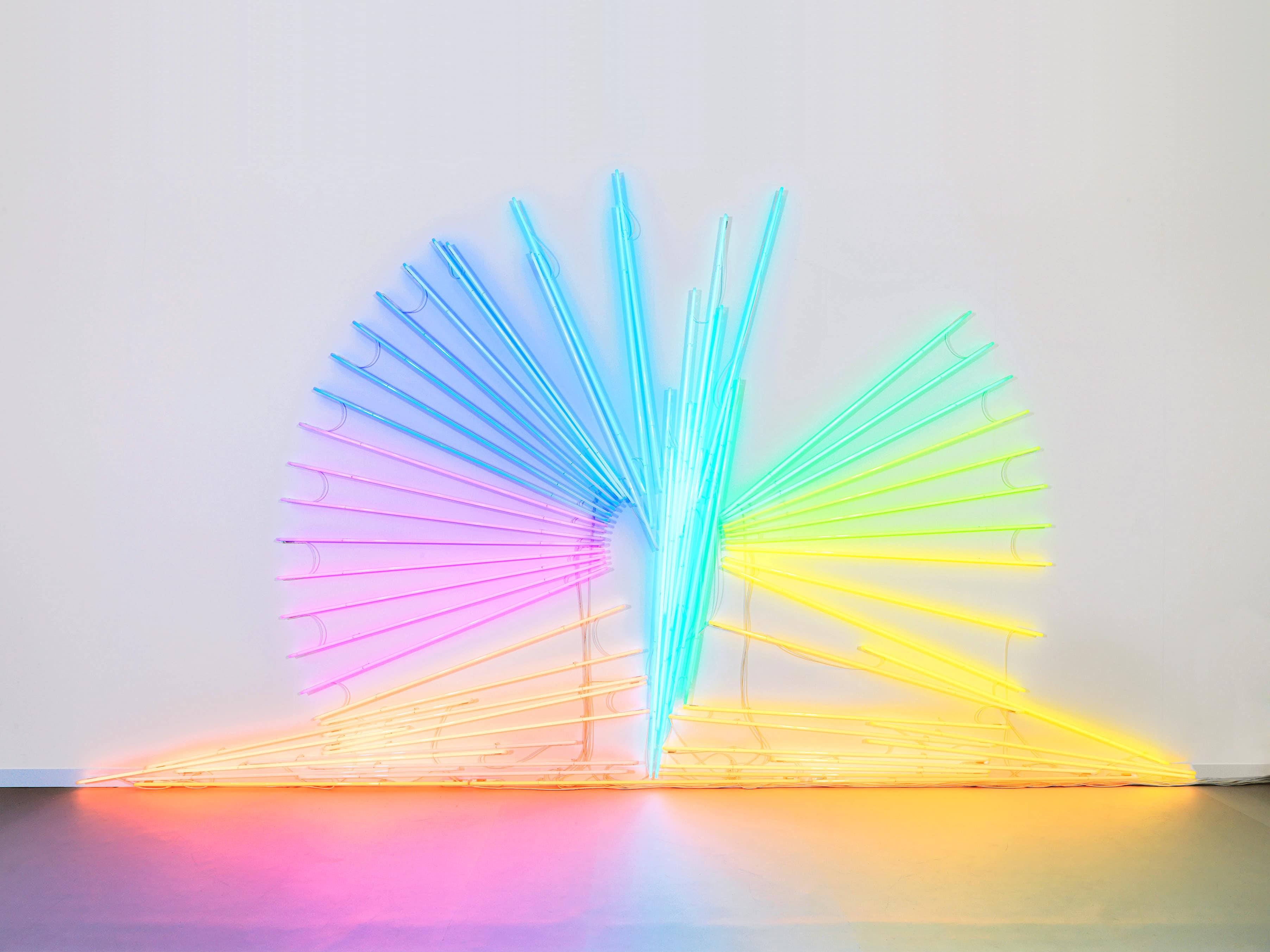 Neon (pattern) - Daniel Firman - contemporary artworks series