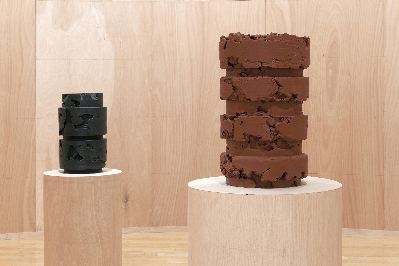 "Daniel Firman, exhibition view ""La Matière Grise"" - MAC art contemporary museum of Lyon © COPYRIGHT | DANIEL FIRMAN | ALL RIGHTS RESERVED"